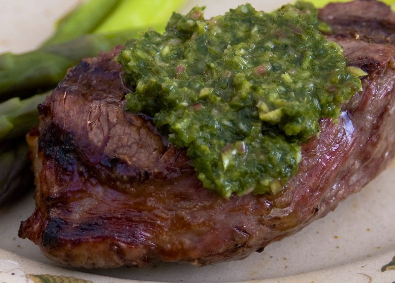 Madison WI Farmers Market Meals: Chimichurri Sauce With Ramps