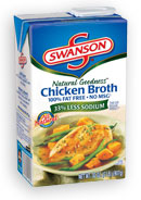 swansons chicken broth